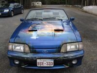 1983 ford mustang convertable