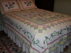 Double Size Quilt and 2 Pillow Shams