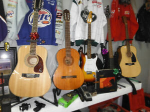Guitars & More! ***Forest CIty Pawnbrokers***  New Location!