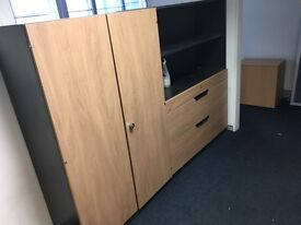 Super clearance on tambours and office storage cupboards @ filing starting from £55 each