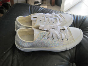 Brand New Glitter Sparkle Converse All-Star Shoes - Size 7