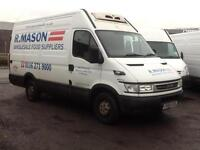 2006 1 owner Iveco daily fridge van 124k from new spares & repairs export