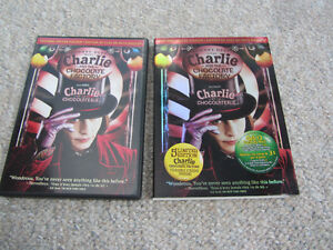 Charlie And The Chocolate Factory 2-Disc DVDs-With Trading Cards