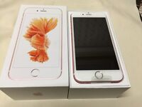 APPLE I PHONE 6S 64GB***NEW** UNLOCKED ROSE GOLD