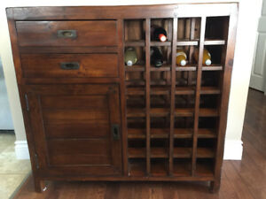 For Sale - Urban Barn Hutch/Wine Bar