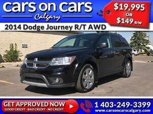 2014 Dodge Journey R/T AWD 7 Pass w/Leather, Navi, DVD, BackUp C