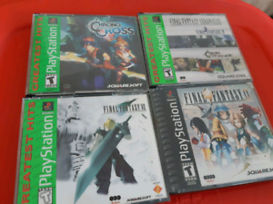 PS1 PLAYSTATION RPGS
