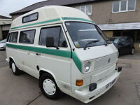 1983 Volkswagen Transporter T25 West Country Kestrel Low Miles