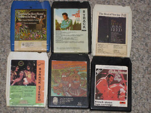 23+ 8-Track tapes