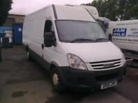 2010 Iveco Daily 2.3 hpt turbo diesel extra long wheel base high top £2,295