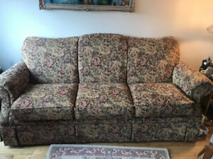 Floral couch for sale