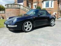 Porsche 911 3.6 Tiptronic S Auto Carrera 1995 - Porsche Cert of Authenticity