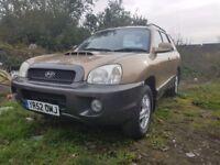 Hyundai Santa Fe 2.0 TD (beige) 2002