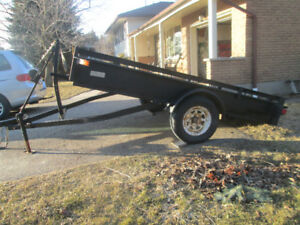 Tilting 6 feet by 10 feet Utility Trailer For Sale