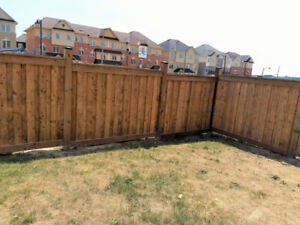 Fence Replacement & Installation  - Spring Appointment