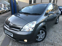 ✿07-Reg Toyota Corolla Verso 2.2 D-4D TR, Grey ✿Diesel ✿7 SEATER ✿ONE OWNER✿