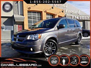Dodge Grand Caravan SXT PREMIUM, CUIR, SUÈDE, TV DVD, GPS, ET ++