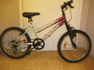 20'' bike impulse w/5 speed front suspension clean tuned up