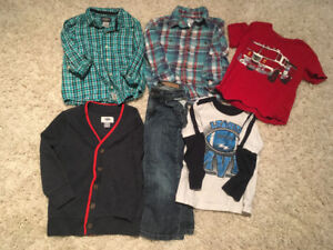 Size 3 - Boys Shirts, Sweater, Jeans