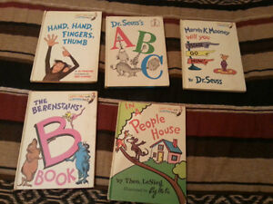Vintage Rare 1960-1970's Dr. Seuess Books ( 2nd-4th Editions )