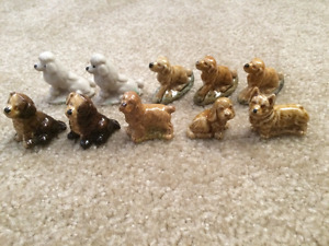 Red Rose Tea Nursery Rhymes and Animal Figurines for sale