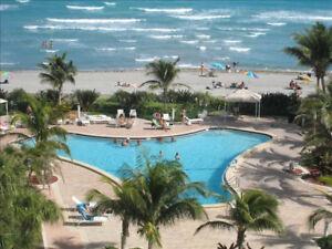 Condo en Floride directement sur la plage