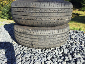 Two P205/60R16 Summer Tires