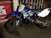 Yamaha yz125 04 model £1400 May swap for a Cr Crf Kx Kxf Yzf rm Rmz