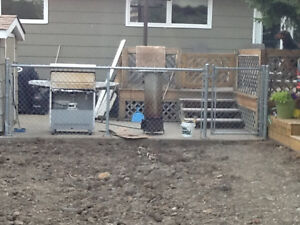 4x14ft chain link fence