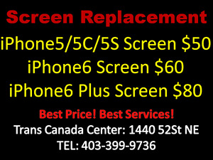 Trans Canada shop iphone screen Replacement 10~15mins only