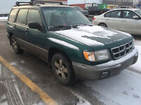 1999 Subaru Forester S Limited Wagon - NEGO