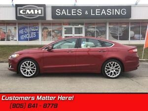 2013 Ford Fusion Titanium   AWD, LEATHER, NAVIGATION, ROOF, 19""