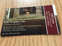 Clean, Repair, Service, Inspect Gas Fireplaces