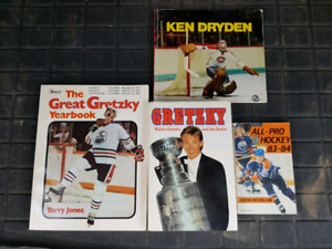 Hockey related book lot