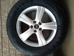 245/65R17 Toyota , Lexus , Mazda winter tires package