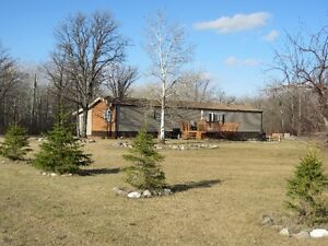 4 Acres, Garage and Mobile Home