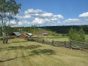 Canadian Historic BC Ranch for Sale with Waterfront not in ALR