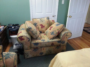 Sofa & Chair, Desk and Chair St. John's Newfoundland image 2