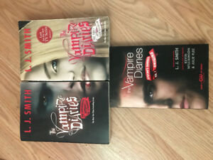 The vampire diaries paperbacks