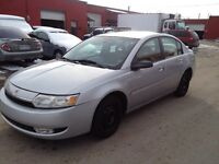 2003 Saturn Ion Low Km's Certified & E-tested