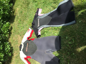 Body glove wetsuit, small and XL