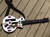 Nintendo Wii Guitar Hero - guitar only