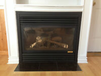 Continental Gas Fireplace Insert For Sale - $400
