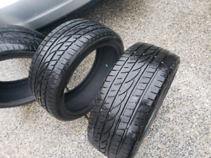 2 winter tires 235/45 r18  and one  225/45 r18