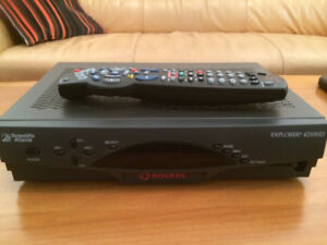 Rogers Scientific Atlanta HD 4250 Cable Box w/HDMI output