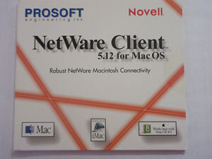NetWare Client 5.12 for Mac OS