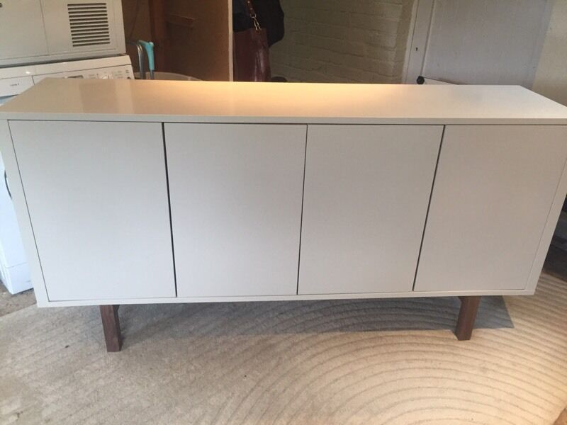 ikea stockholm sideboard in grey in thatcham berkshire gumtree. Black Bedroom Furniture Sets. Home Design Ideas