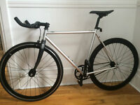 Fix gear - state bicycle co contender - COMME NEUF
