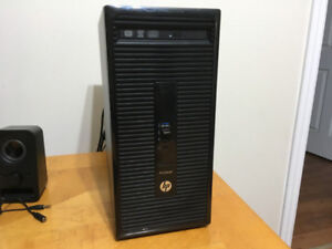 hp prodesk 400 minitower (AMD QUAD CORE)