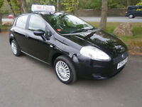06 Fiat Grande Punto 1.2 Active in black